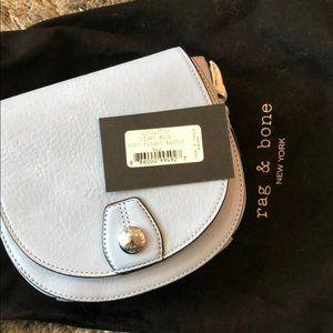 Rag and Bone mini saddle bag NEW